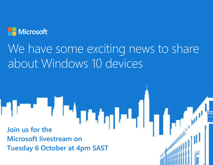 Join us at immedia to watch the Microsoft livestream on 6 October