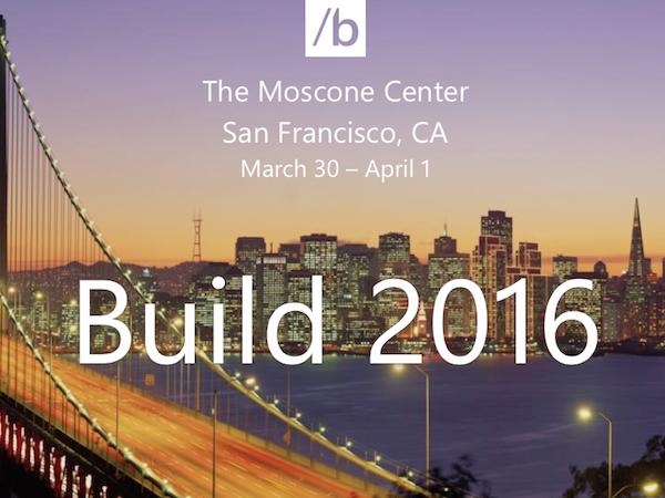 Microsoft Build 2016 Keynote at immedia