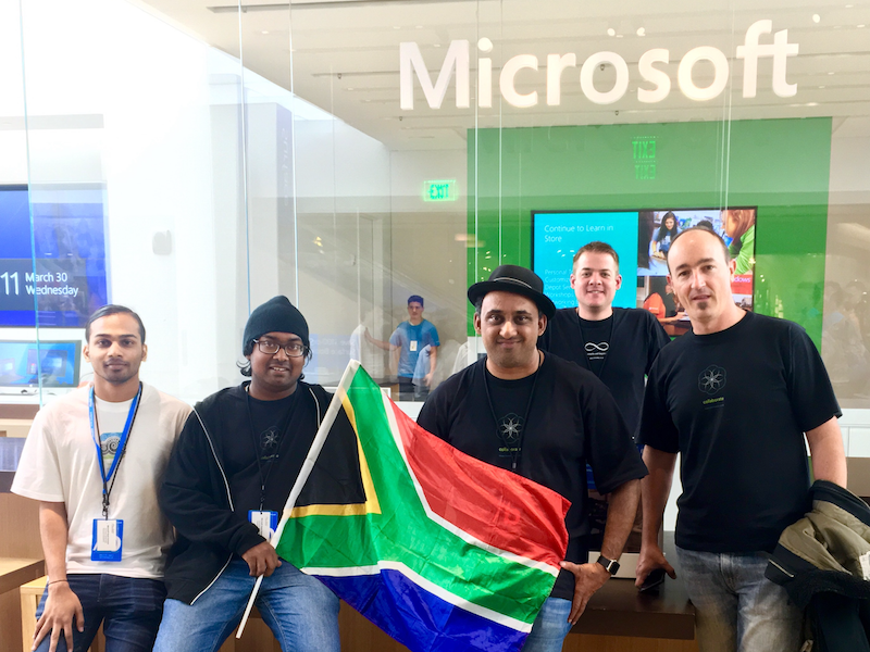 immedia representing South Africa at Microsoft Build 2016