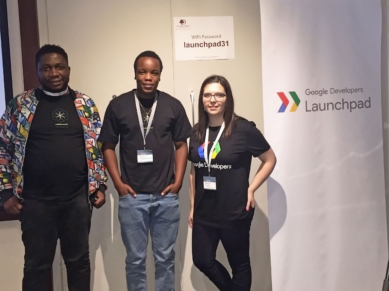 immedia at the Google Launchpad Build event